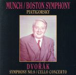 ドヴォルザーク:交響曲第8番&チェロ協奏曲(通常)(CDA)