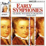 モーツァルト:初期交響曲集(通常)(CDA)