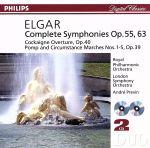 エルガー:交響曲第1番・第2番(通常)(CDA)
