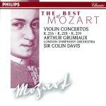 モーツァルト:ヴァイオリン協奏曲第3番、4番、5番(通常)(CDA)