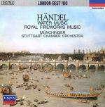 ヘンデル:水上の音楽、王宮の花火の音楽(通常)(CDA)