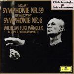 モーツァルト:交響曲第39番/チャイコフスキー:同第6番「悲愴」 (通常)(CDA)