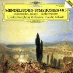 メンデルスゾーン:交響曲第4番(通常)(CDA)