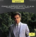 ベートーヴェン:ピアノ・ソナタ第17番「テンペスト」・第21番「ワルトシュタイン」・第26番「告別」(通常)(CDA)