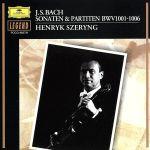 バッハ:無伴奏ヴァイオリンのためのソナタとパルティータ(通常)(CDA)