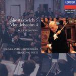 メンデルスゾーン:交響曲第4番「イタリア」/ショスタコーヴィチ:交響曲第5番(通常)(CDA)