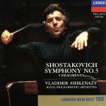 ショスタコーヴィチ:交響曲第5番(通常)(CDA)