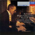 ラフマニノフ:ピアノ協奏曲第2番・4番(通常)(CDA)