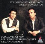 チャイコフスキー&グラズノフ:ヴァイオリン協奏曲(通常)(CDA)