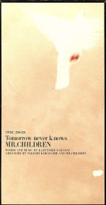 【8cm】Tomorrow never knows(通常)(CDS)