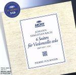 J.S.バッハ:無伴奏チェロ組曲全集(通常)(CDA)