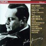 ブラームス:ヴァイオリン協奏曲(通常)(CDA)
