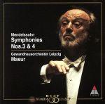 メンデルスゾーン:交響曲第3番・第4番(通常)(CDA)