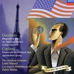 ガーシュウィン/コープランド:管弦楽作品集(通常)(CDA)