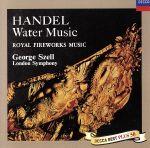 ヘンデル:水上の音楽/王宮の花火の音楽、他(通常)(CDA)