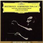 ベートーヴェン:交響曲第5&7番(通常)(CDA)