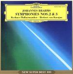ブラームス:交響曲第2&3番(通常)(CDA)