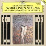 ベートーヴェン:交響曲第2番・第5番「運命」(通常)(CDA)