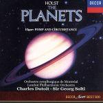 ホルスト:組曲「惑星」/エルガー:行進曲「威風堂々」第1番・第2番・第5番(通常)(CDA)