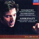チャイコフスキー:ピアノ協奏曲第1番 ラフマニノフ:ピアノ協奏曲第2番(通常)(CDA)