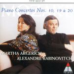 モーツァルト:ピアノ協奏曲第10番・第19番・第20番(通常)(CDA)