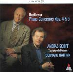 ベートーヴェン:ピアノ協奏曲第4&5番《皇帝》(通常)(CDA)
