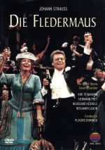 J.シュトラウス:喜歌劇「こうもり」全曲(通常)(DVD)