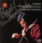 バッハ:無伴奏ヴァイオリンソナタ(通常)(CDA)