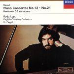 モーツァルト:ピアノ協奏曲第12番・第21番 ベートーヴェン:創作主題による32の変奏曲(通常)(CDA)