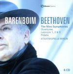 ベートーヴェン:交響曲全集/交響曲第1番~第9番、レオノーレ、フィデリオ序曲(通常)(CDA)