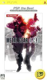 METAL GEAR AC!D(メタルギア アシッド)コナミザベスト(再販)(ゲーム)