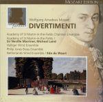 モーツァルト:ディヴェルティメント全集 MOZART EDITION 3(通常)(CDA)