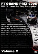 F1グランプリ 2005 VOL.2 Rd.8~Rd.13(通常)(DVD)