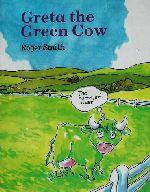 英文 GRETA THE GREEN COW みどりのうし(児童書)