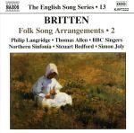 英国歌曲シリーズ第13集 ブリテン:民謡編曲集 第2集(通常)(CDA)