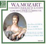 モーツァルト:フルートとハープのための協奏曲(通常)(CDA)
