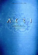 ACRI デジタルリマスター(初回生産限定版)((特製ケース、ブックレット、ポートレート付))(通常)(DVD)