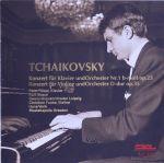 チャイコフスキー:ピアノ協奏曲第1番/ヴァイオリン協奏曲(通常)(CDA)