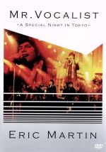 MR.VOCALIST~A Special Night In Tokyo~(初回生産限定版)(DVD付)((ライヴCD付))(通常)(DVD)
