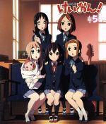 けいおん!(5)(Blu-ray Disc)((コード譜、さわ子のきせかえ軽音部(梓)、ステッカー、ピック(澪)、プロフィールカード(澪)付))(BLU-RAY DISC)(DVD)
