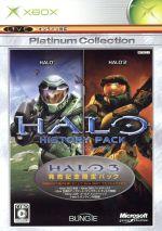 Halo ヒストリーパック Xboxプラチナコレクション(『Halo』、『Halo2』、アップデートディスク、Xbox360コントローラー対応表付)(数量限定版)(ゲーム)