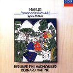 マーラー:交響曲第4番&第5番(通常)(CDA)