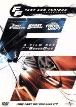 ワイルド・スピード トリロジーBOX(通常)(DVD)