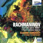 ラフマニノフ:歌劇「アレコ」より、5つの「音の絵」、スケルツォ(通常)(CDA)
