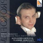 プロコフィエフ:ピアノ協奏曲第1番、第2番、第4番「左手のための」(通常)(CDA)