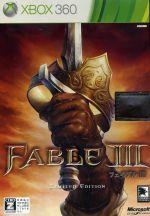 Fable Ⅲ <リミテッドエディション>(ボックス、プレイングカード、コイン付)(初回限定版)(ゲーム)