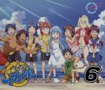 侵略!イカ娘(6)(Blu-ray Disc)(リーフレット付)(BLU-RAY DISC)(DVD)
