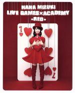 NANA MIZUKI LIVE GAMESxACADEMY(RED)(Blu-ray Disc)(BLU-RAY DISC)(DVD)