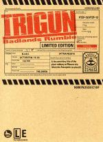 劇場版トライガン「TRIGUN Badlands Rumble」(Blu-ray Disc)(コミックス、絵コンテ集、特典DVD1枚、外箱付)(BLU-RAY DISC)(DVD)