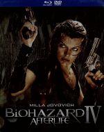 バイオハザードⅣ アフターライフ ブルーレイ&DVDセット(Blu-ray Disc)(BLU-RAY DISC)(DVD)